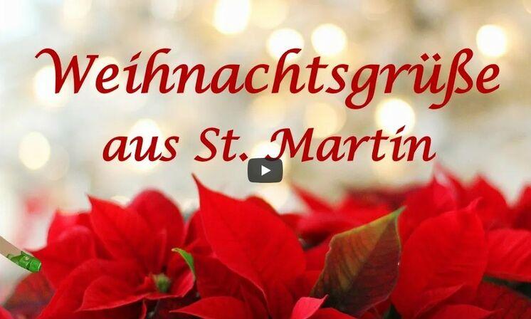 Video: Weihnachtsgrüße aus St. Martin