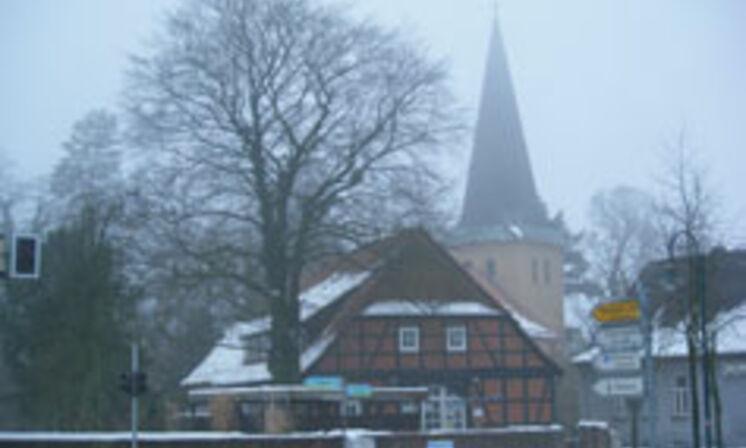 Kirche und Küsterhaus